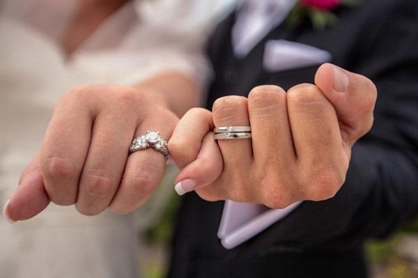 На каком пальце носят обручальные кольца в России?