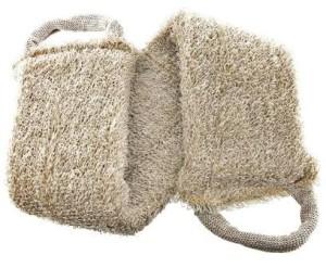 Льняные мочалки для тела