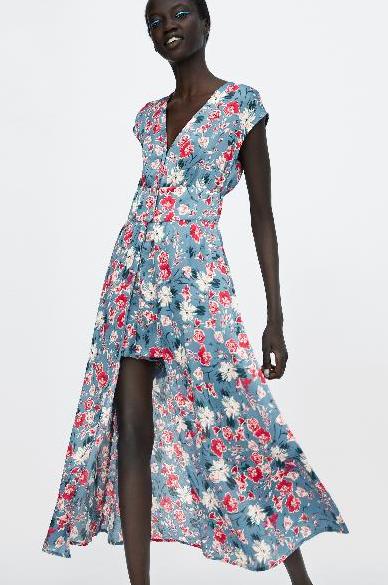 Платье-комбинезон из Zara