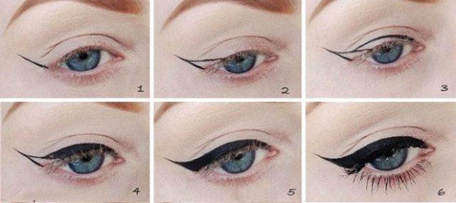 Как правильно и ровно нарисовать стрелки на глазах - инструкция
