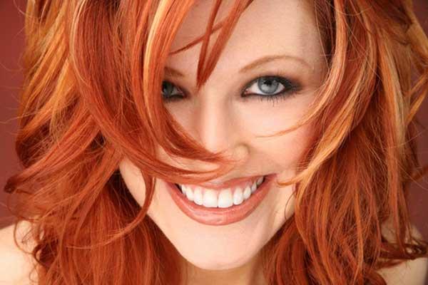 Модные волосы 2013 - рыжий цвет волос