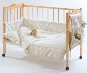 Выбор постельного белья для новорожденных