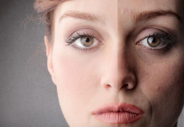 Скрыть макияжем носогубную складку