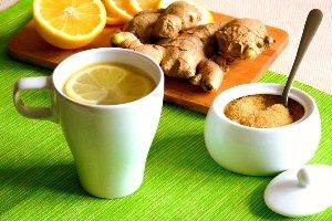 Чай из имбиря от кашля у ребенка
