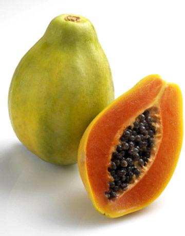 Вредные фрукты при беременности - папайя