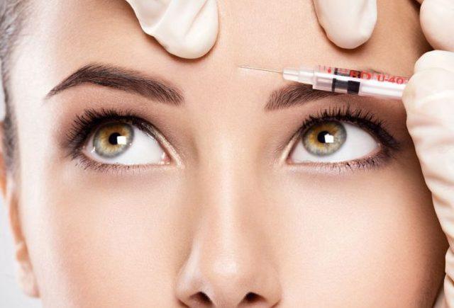 Популярные процедуры для лица - ботокс