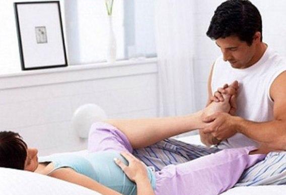 Полезный массаж для беременных