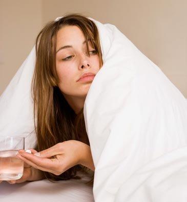 У женщин тоже бывает похмелье! 10 способов, как вылечить похмелье!