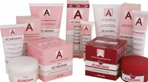 Лучшие отбеливающие кремы для лица - Ахромин