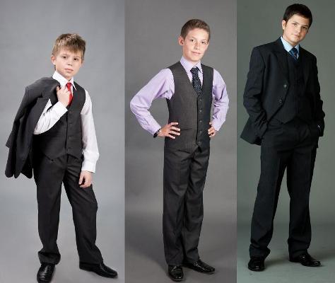 Одежда на 1 сентября для мальчиков - стиль денди
