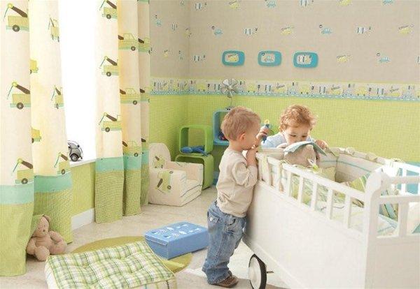 Какие обои выбрать в детскую комнату?