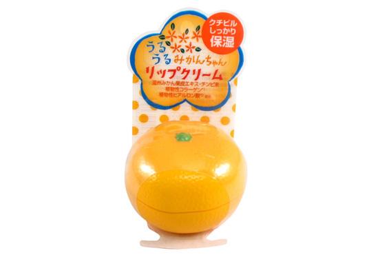 Рейтинг лучших натуральных бальзамов для губ - Kanebo Mikan Chan
