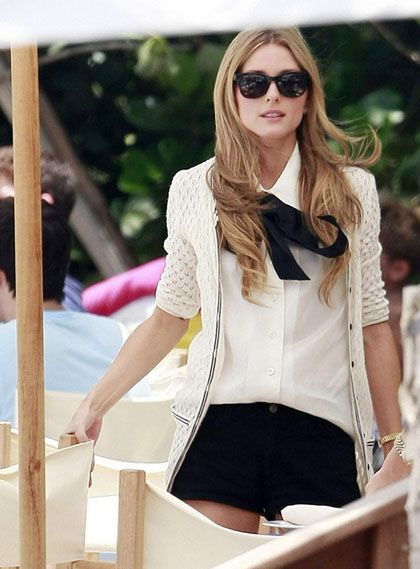 """Olivia Palermo and Whitney Port film a scene for """"The City""""? at the W Hotel in Miami Beach"""