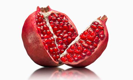 Полезные фрукты при беременности - гранат