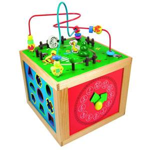 Дидактический куб от Woody