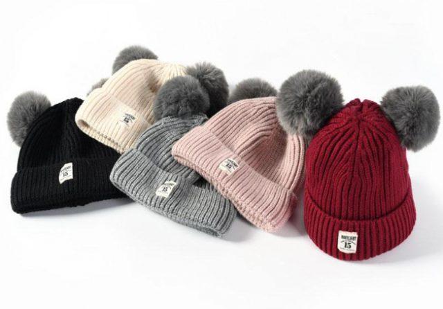Детские шапки для зимы