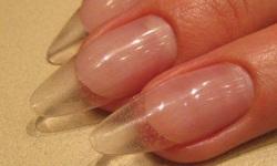 Домашнее наращивание ногтей акрилом на типсах
