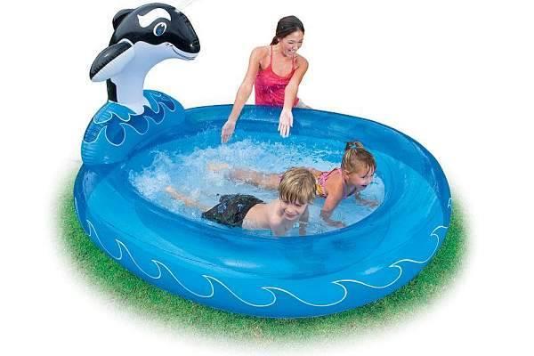 Надувной бассейн для ребенка