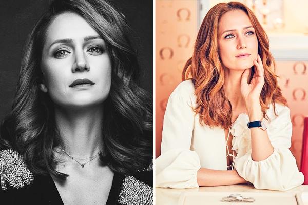 актриса с красивыми глазами