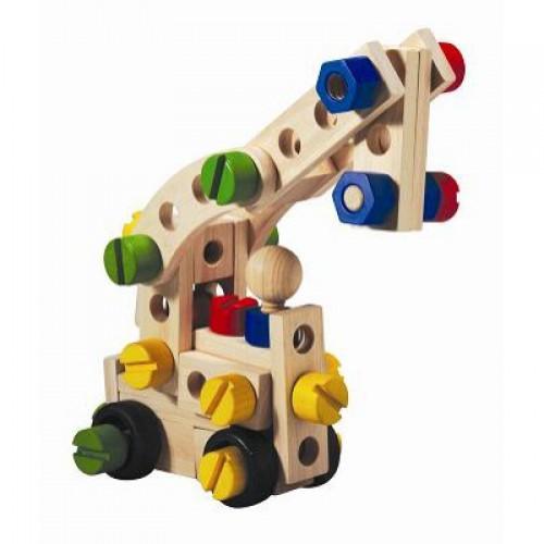 Деревянные игрушки - конструкторы