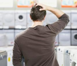 Список дел для будущего папы - покупаем стиральную машину