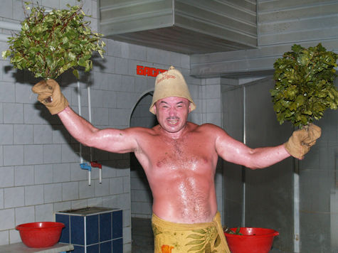 Новый год в бане или сауне