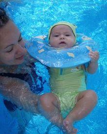 Температура воды для плавания новорожденных