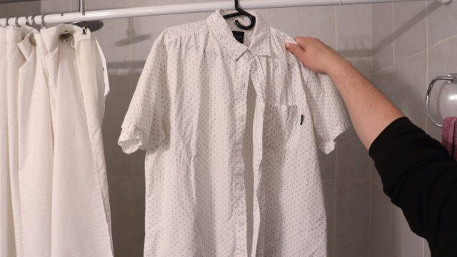 Глажка одежды паром