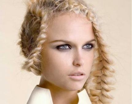 Модные прически 2013 - косы