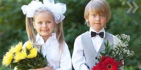 Красивые прически на 1 сентября для девочек и мальчиков
