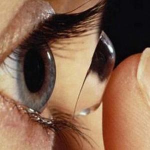 Назначение контактных линз