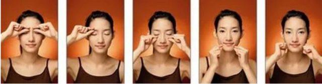 Корейский миостимулирующий щипковый массаж лица
