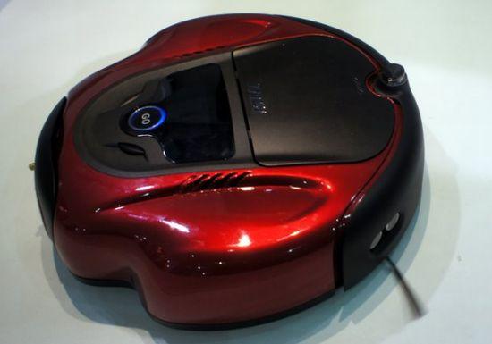 Робот-пылесос с ультразвуковой навигацией MSI – R1300 Security Vacuum Robot