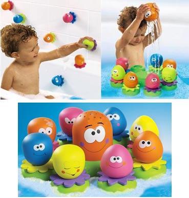 Игрушки на присосках для ванны