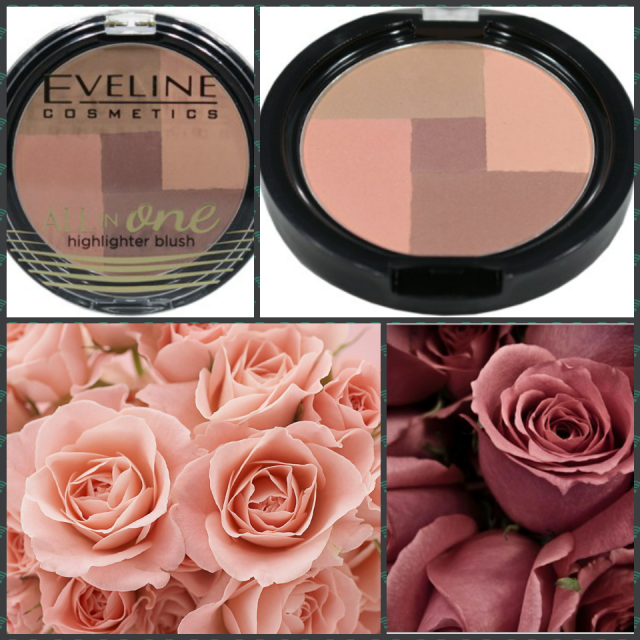 Eveline All in One highlighter blush