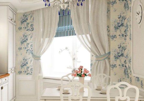 Кухонные шторы - как выбрать правильно