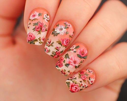 Розочки на ногтях