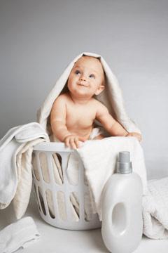 Отбеливание детских вещей хозяйственным мылом