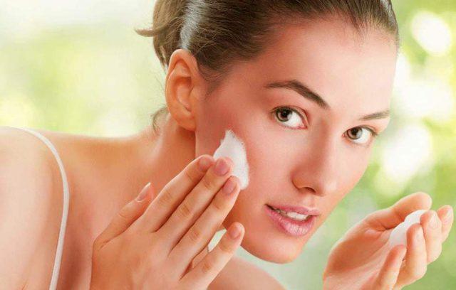 Очистить кожу