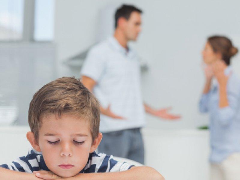 Родители ругаются и дерутся - что делать ребенку