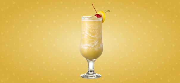 Новогодние коктейли 2014 - Банановый Дайкири