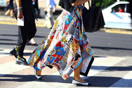 Модный принт 2016 года - поп-арт