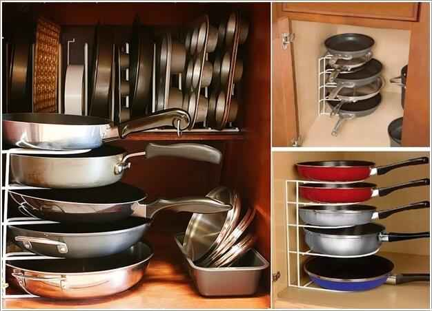 Органайзер для сковородок