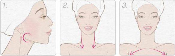 Лимфодренажный массаж шеи от морщин