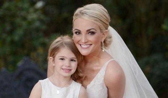 Джейми Линн Спирс с дочерью