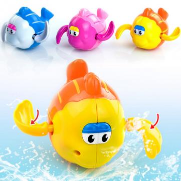 Заводные игрушки для игр в воде