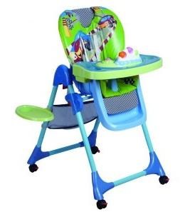 Пластиковый складной стульчик для кормления