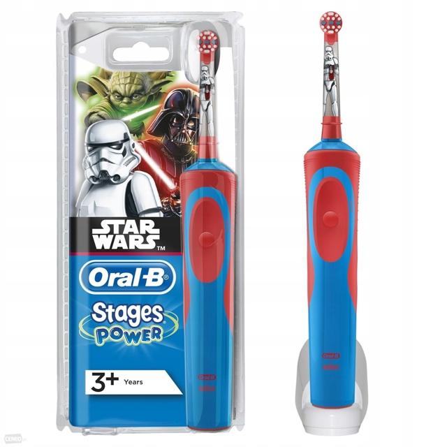 Зубная щетка для детей Oral-B Stages Power