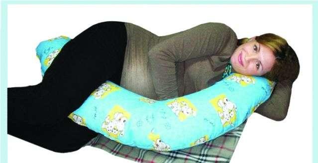 Подушка для беременных и кормящих Бумеранг