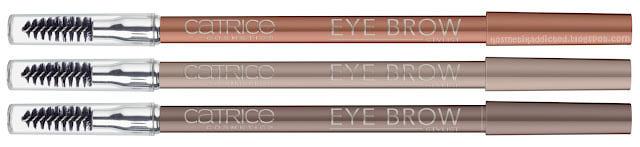"Стойкие карандаши для бровей Catrice: ""Eye Brow Stylist"""